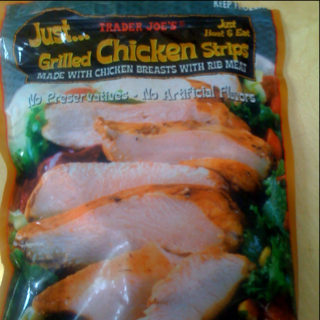 Toddler Test Kitchen: Trader Joe's Grilled Chicken Strips